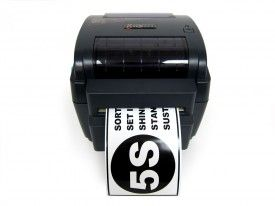 The LabelTac 4 industrial label printer is pretty cool great