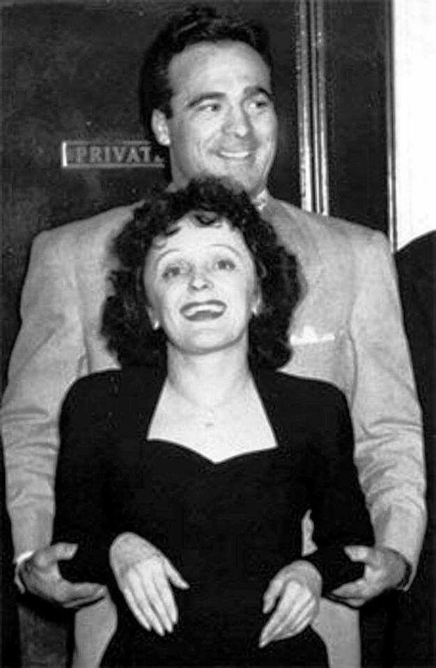 Edith Piaf y Marcel Cerdan | Edith piaf, Celebrities who
