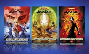 Avatar The Last Airbender The Complete Book 1 2 Or 3 Collection