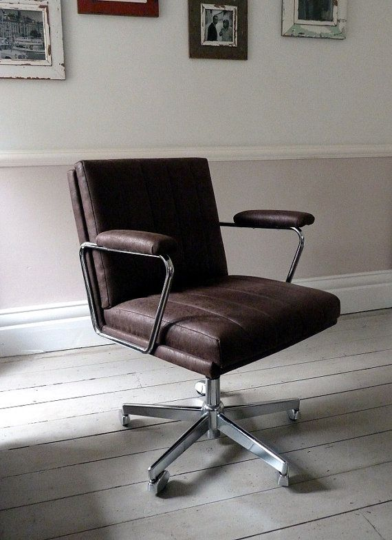 vintage executive desk chair office chair 1968 1972 office rh pinterest co uk