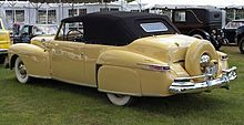 1948 Lincoln Continental - Wikipedia, the free encyclopedia Last of the first generation Continentals
