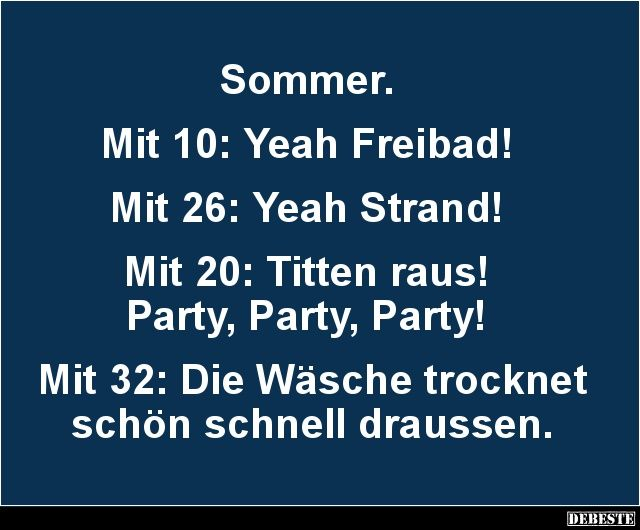 Sommer Witze