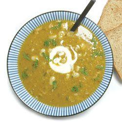 Healthy recipe- Broad bean soup