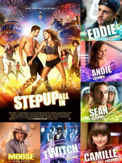Step Up All In Cast Step Up Movies New Movie Posters Dance Movies