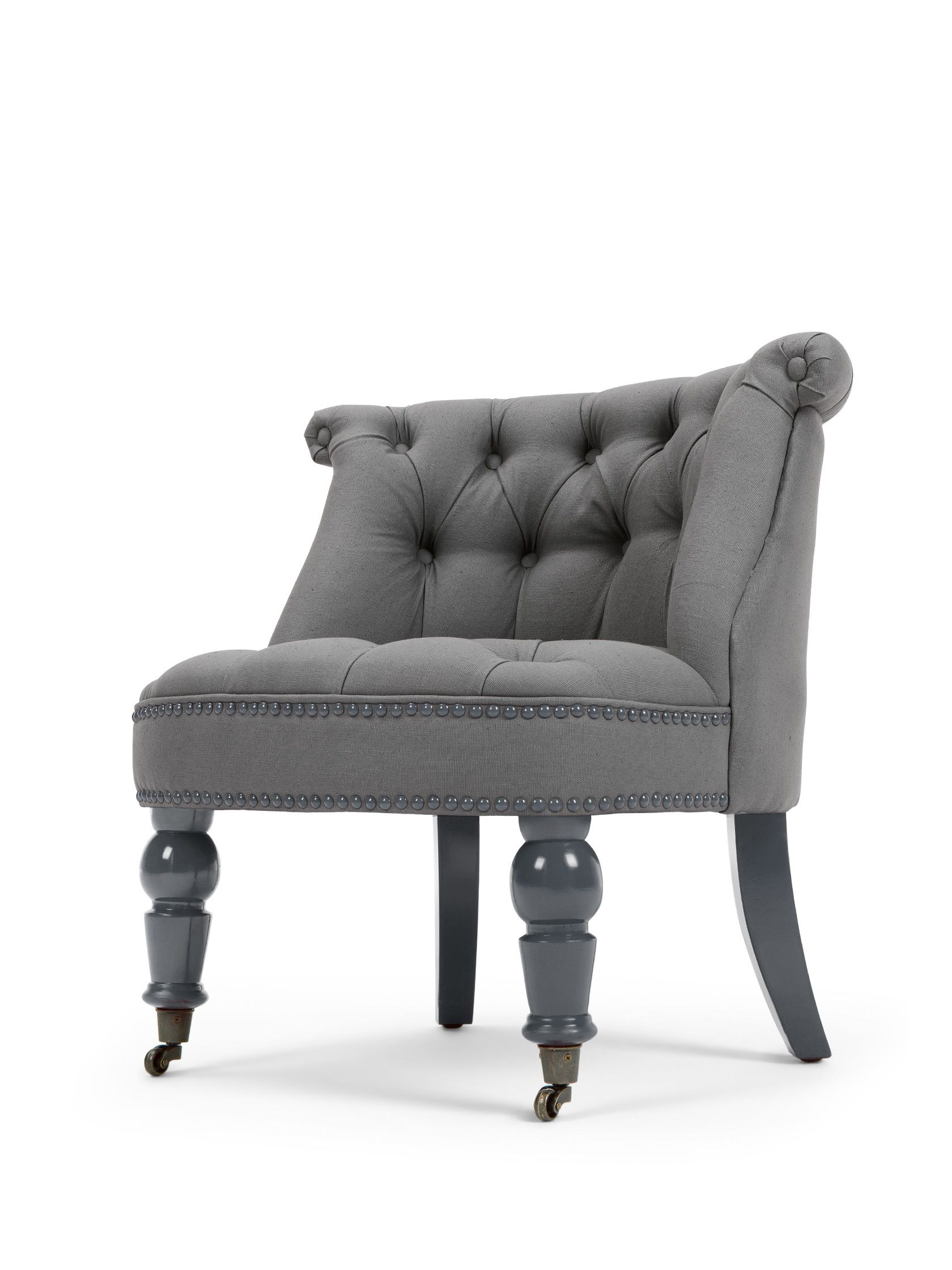 the bouji chair in graphite grey and slate boudoir chic 179 rh pinterest com