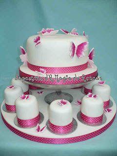 Casamentos n'A Magia do Açúcar: Mini Bolos
