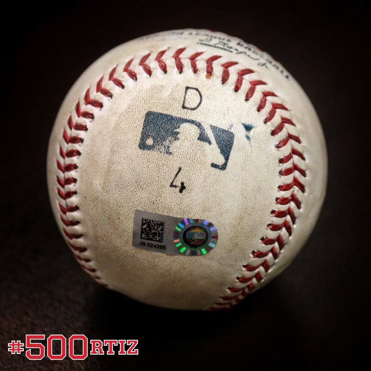 Boston Red Sox latest Mr. 500