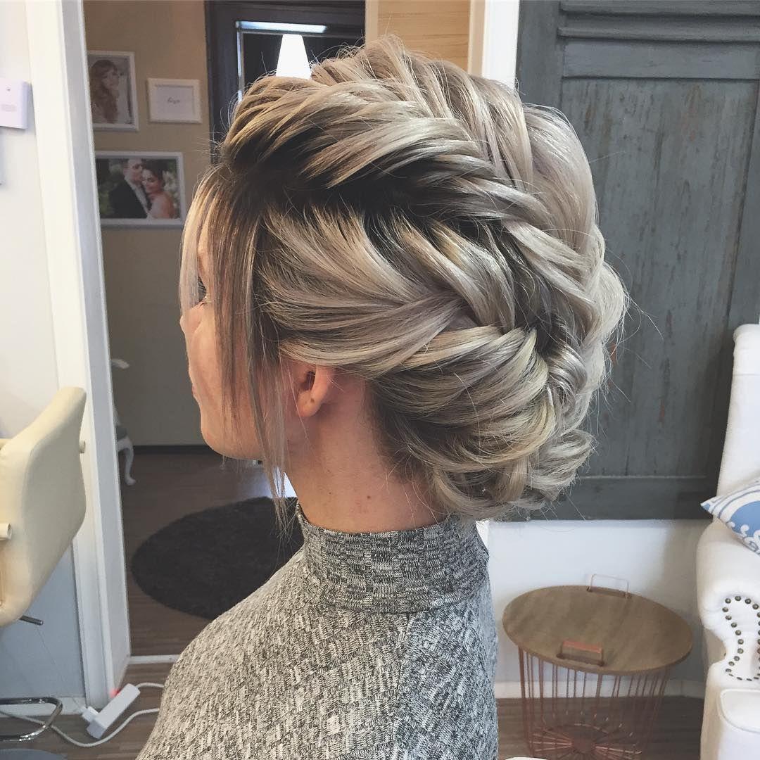 Braids #weddinghair #newideas #inspiration #greyhair #braids #braidstyles #fisht...  #braids #braidstyles #easyhairdo #fishtailbraid