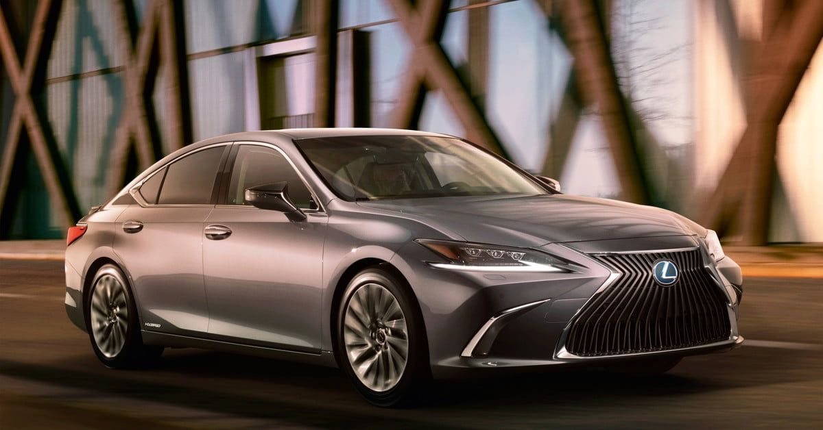 The 2019 Lexus Es Says Bye Bye To Inconspicuousness Lexus Es