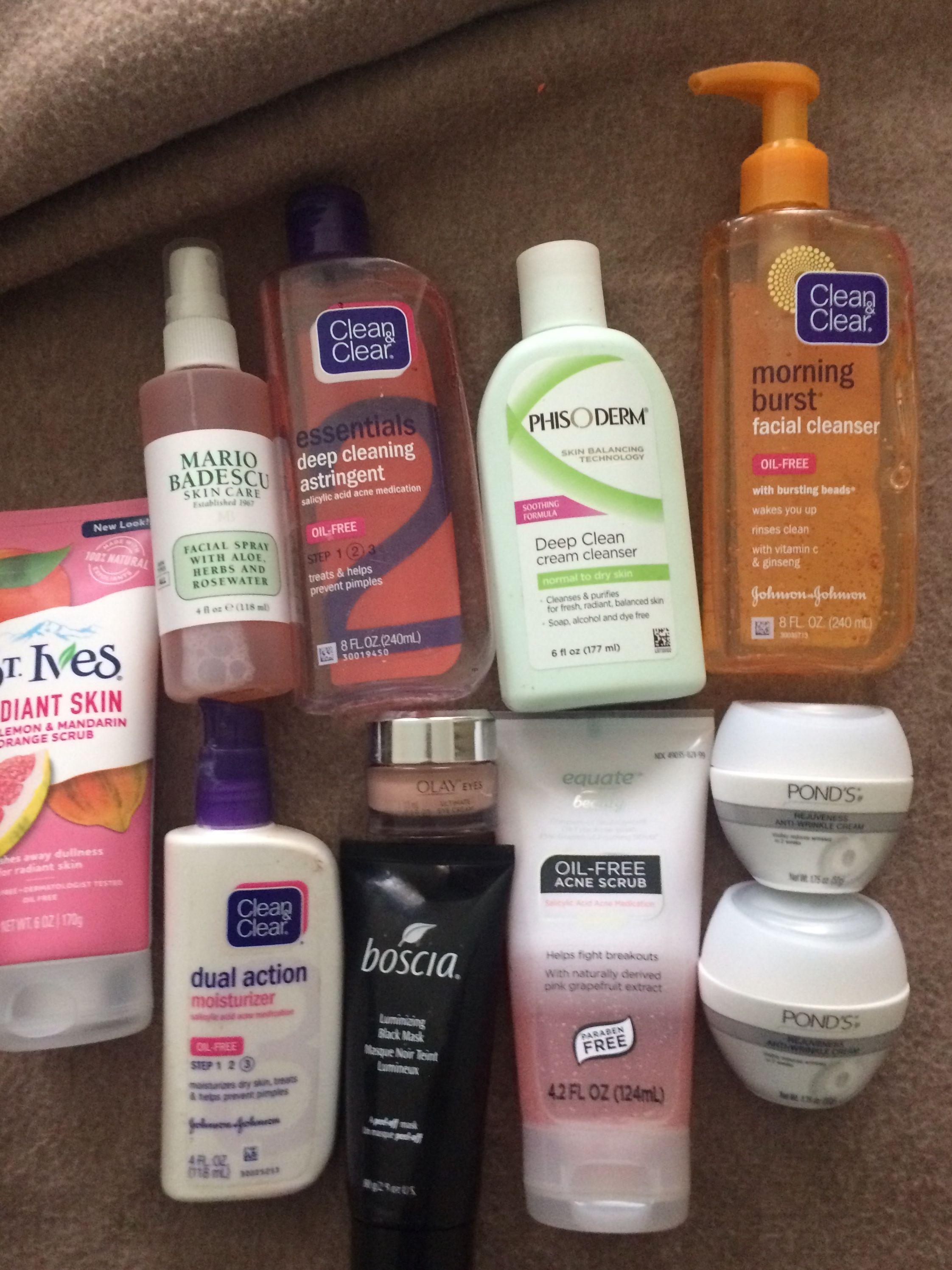 My Current Skincare Regimen Skincare Dryskin Skin Cleanser