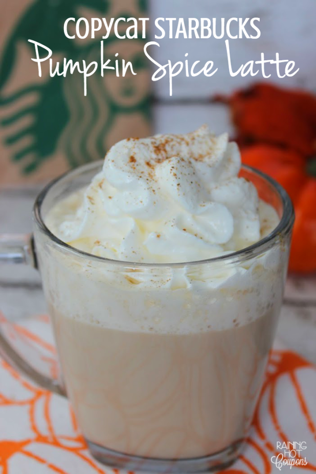 Copycat Pumpkin Spice Latte Recipe Starbucks pumpkin