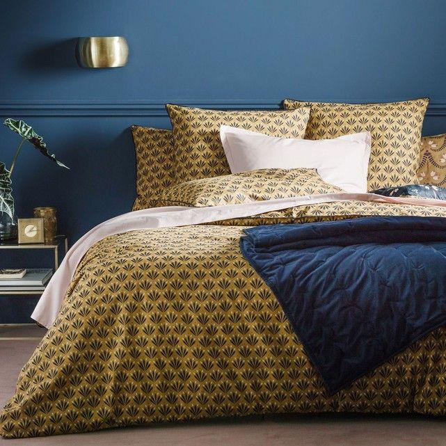 Housse De Couette Imprimee Eventail La Redoute Interieurs Decor Home Living Room Bed Linen Design Home
