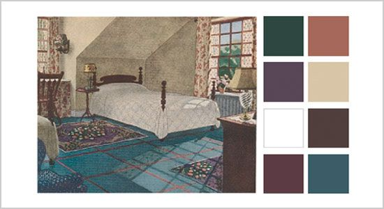 1931 Bedroom Home Decorating Interior Paint Bedroom