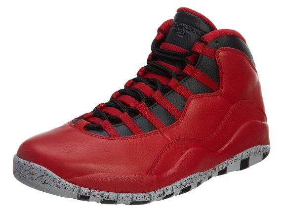 Nike - Air Jordan 10 Retro 30TH - Farbe: Rot-Schwarz - Größe: