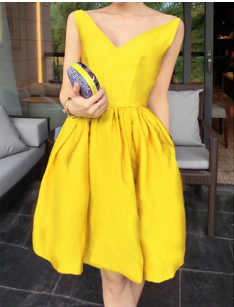 Perfect summer party dress | Yellow | Pinterest | Summer parties ...