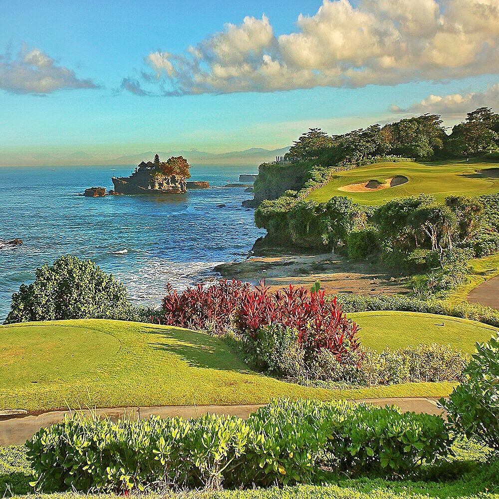 """Wonderful Indonesia on Instagram: """"Tanah Lot view from @panpacificbali ! Happy Sunday dear all !! """""""