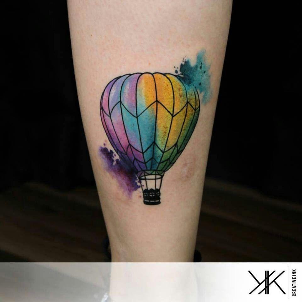 Watercolor Purple Balloon Tattoo Balloon Tattoo Tattoos Mini