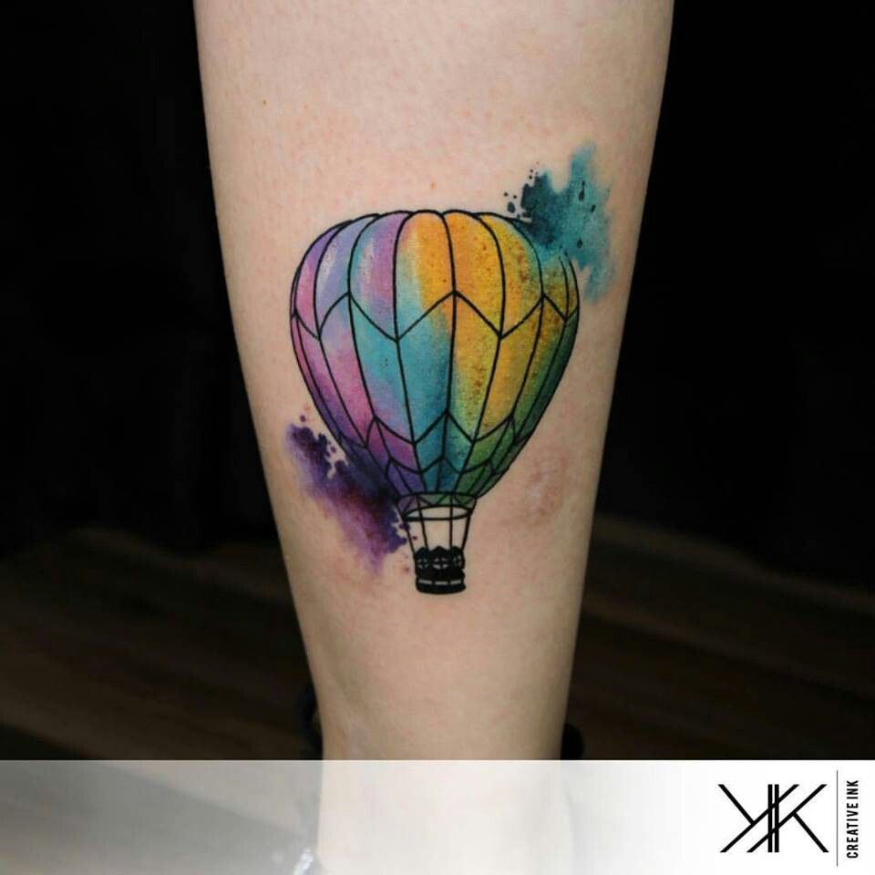 Koray Karagozler Watercolor Balloon Tattoo Balloon Tattoo Hot