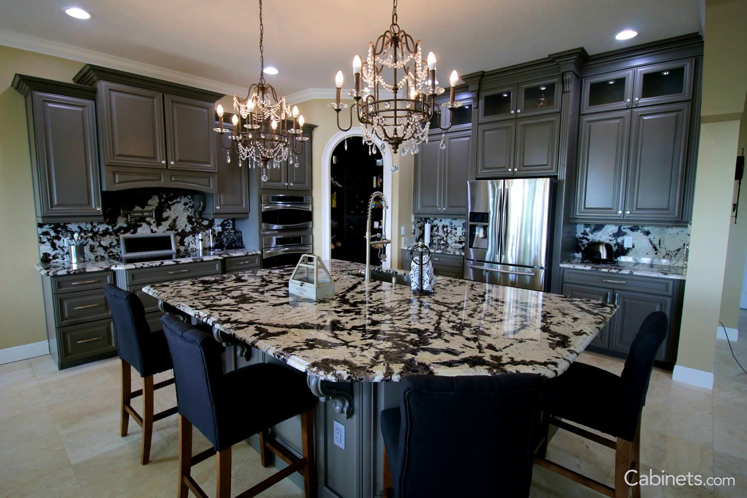 Best Apartments Agreeable Gray Kitchen Wood Springfield Maple 640 x 480