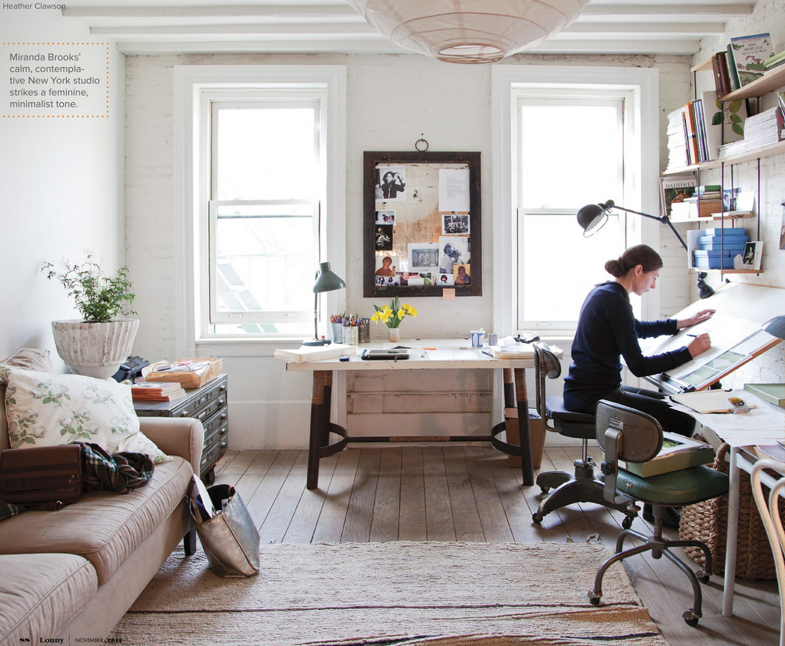 inspiring real home offices beautiful spaces houses home rh pinterest com