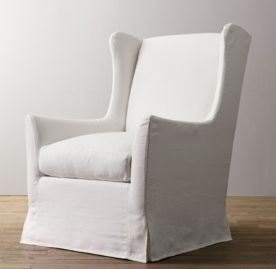 Wingback Swivel Glider With Slipcover | Nursery Seating Baby U0026 Child