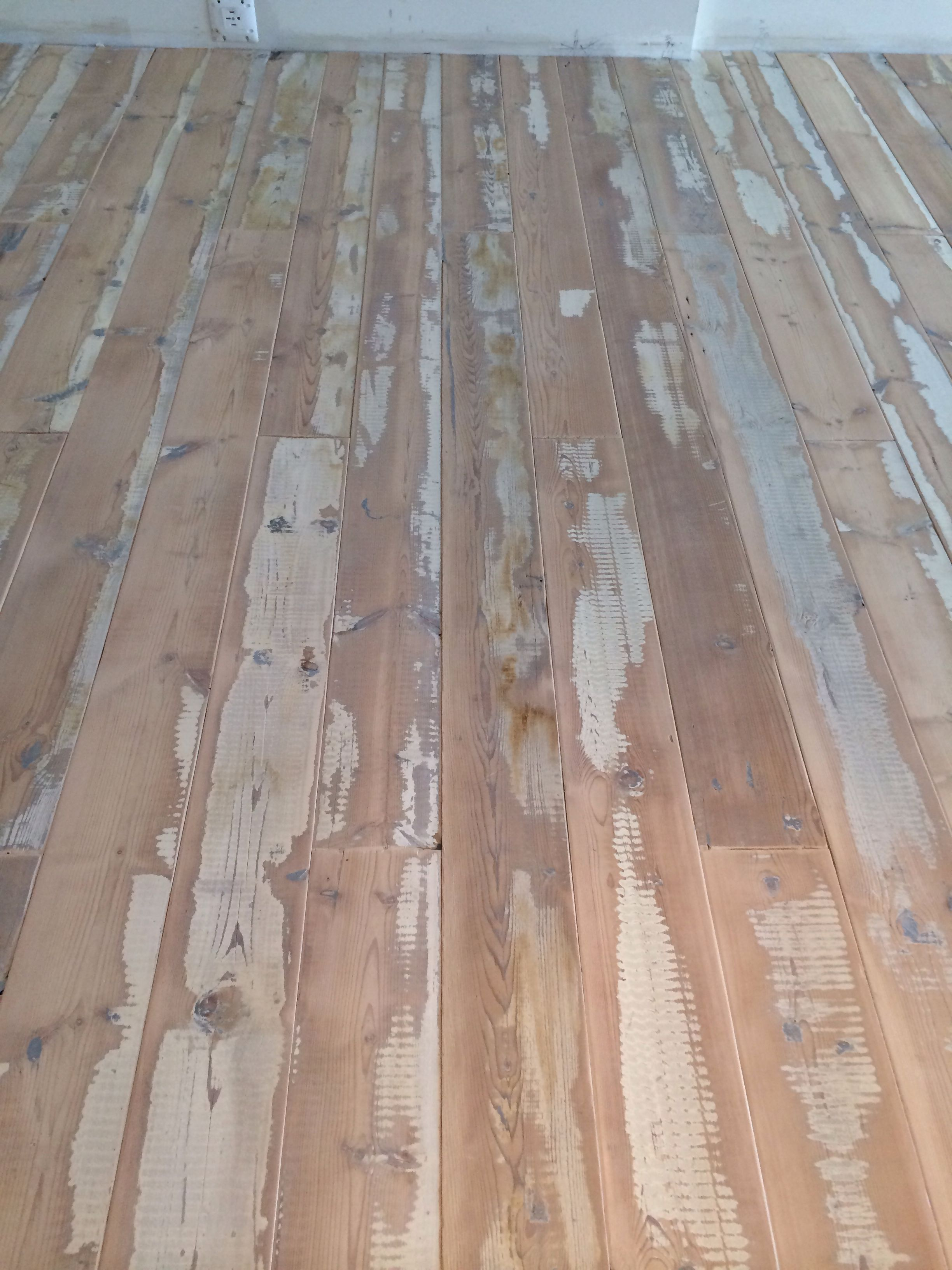 Reclaimed Pine Original Milk Paint Lightly Sanded