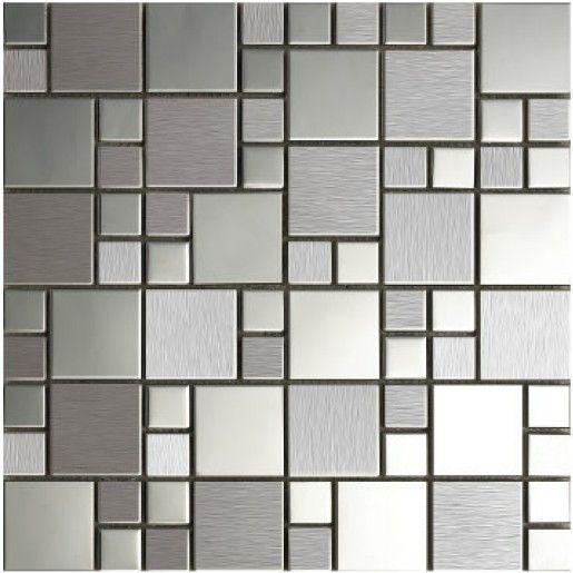Ya conoces los azulejos metálicos?