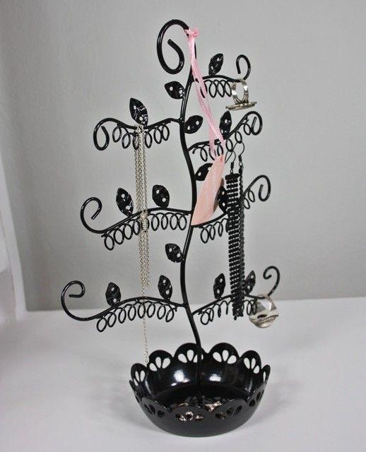#Schmuckbaum #Schmuckständer Schmuckschale schwarz Metall #sass & belle im Elbmöbel Online Shop