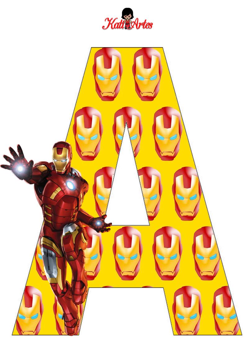 Pin On Iron Man Printables