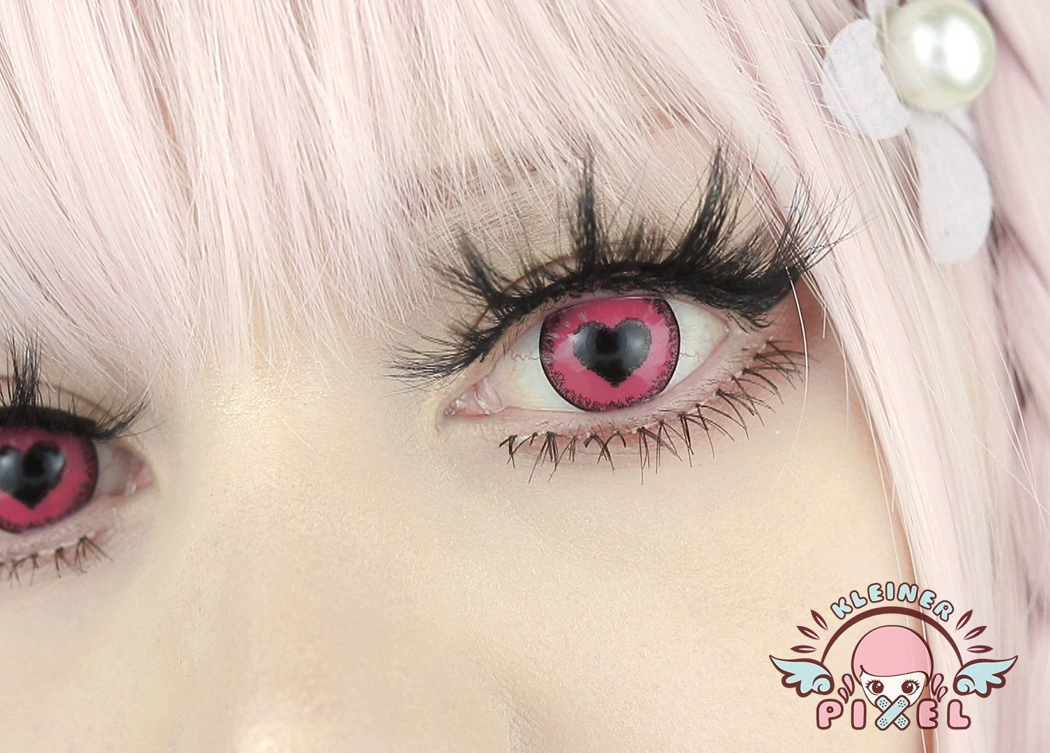 Anime yandere pink by kleinerpixel cosplay contacts