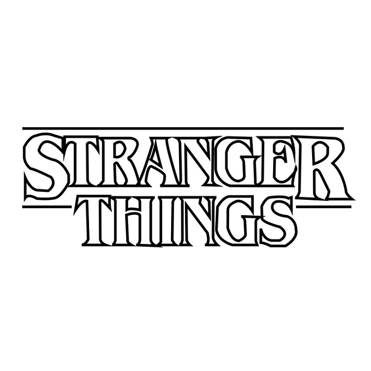 Stranger Things Coloring Pages K5 Worksheets Stranger Things Logo Stranger Things Sticker Stranger Things Poster