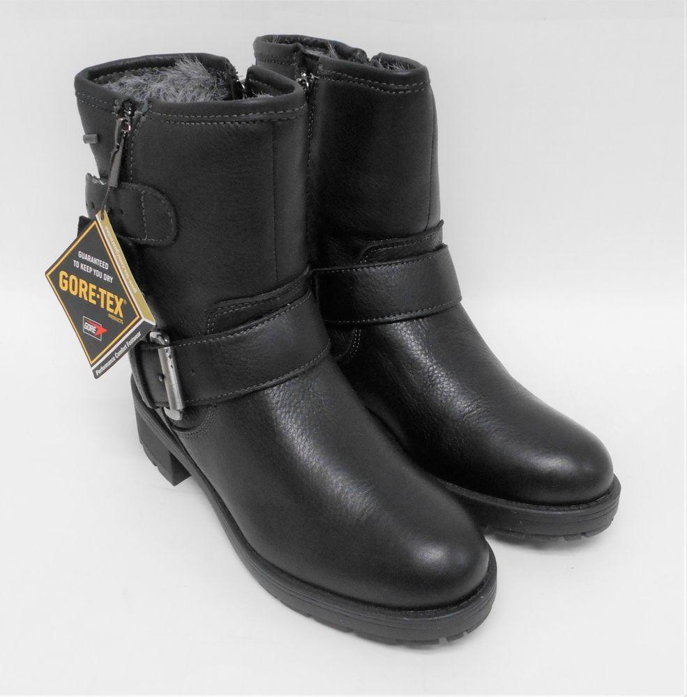 5153b6cd8 D239 New Women s Clarks Reunite Go GTX Black Goretex Boot 6 M  Clarks   AnkleBoots