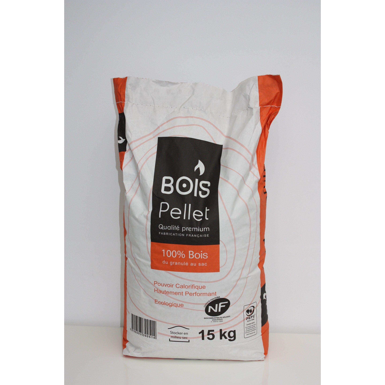 Granules De Bois Bois Pellet 15kg Breizh Pellet Bois De