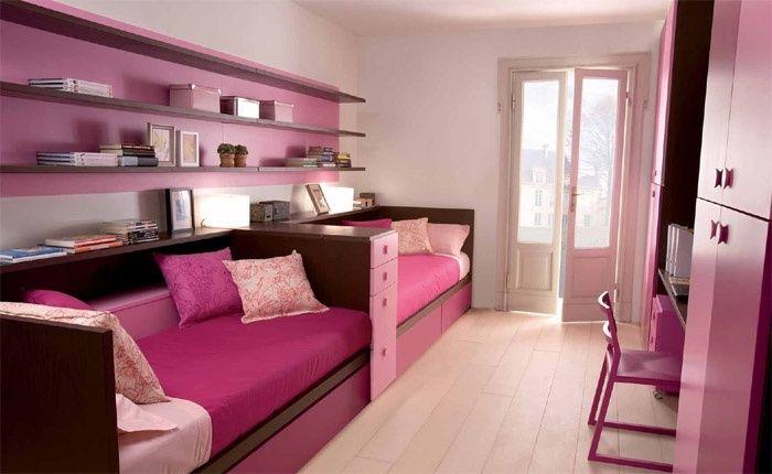 chambre pour deux filles | Chambre enfant | Pinterest | Deux filles ...