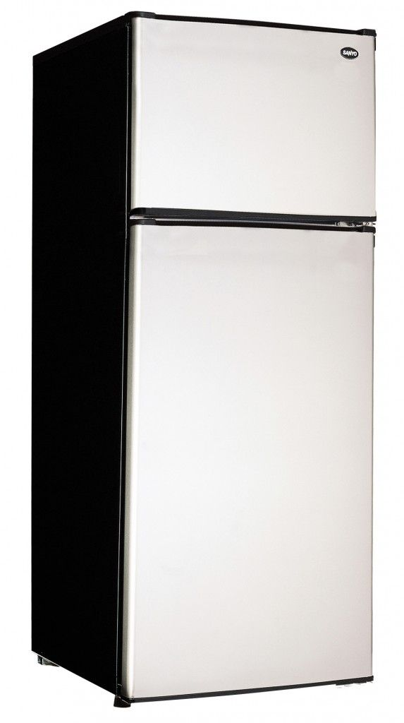Apartment Size Refrigerator and Freezer Simple Design ...