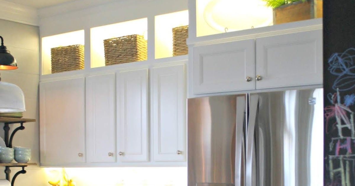 Diy Cabinet Lighting And How To Hide It Cabinet Lighting