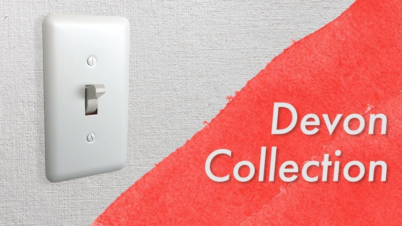 Amerelle Devon Collection Wall Switch Plates White Give