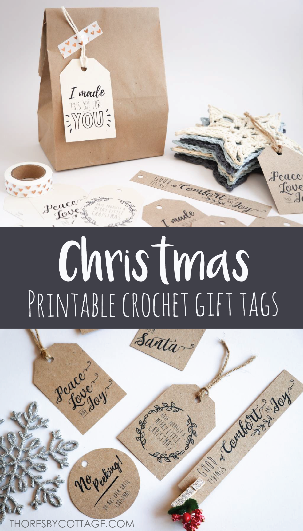 invitation wedding wording gifts%0A Free printable Christmas tags   gift labels for crochet