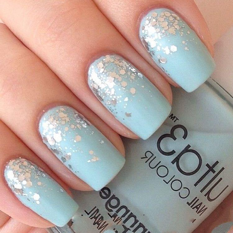 Baby Blue Nail Ideas You Should Try Nail Nails Naildesigns Beautiful Nailart Nailstyl Baby Blue Nails Blue Acrylic Nails Glitter Baby Blue Acrylic Nails