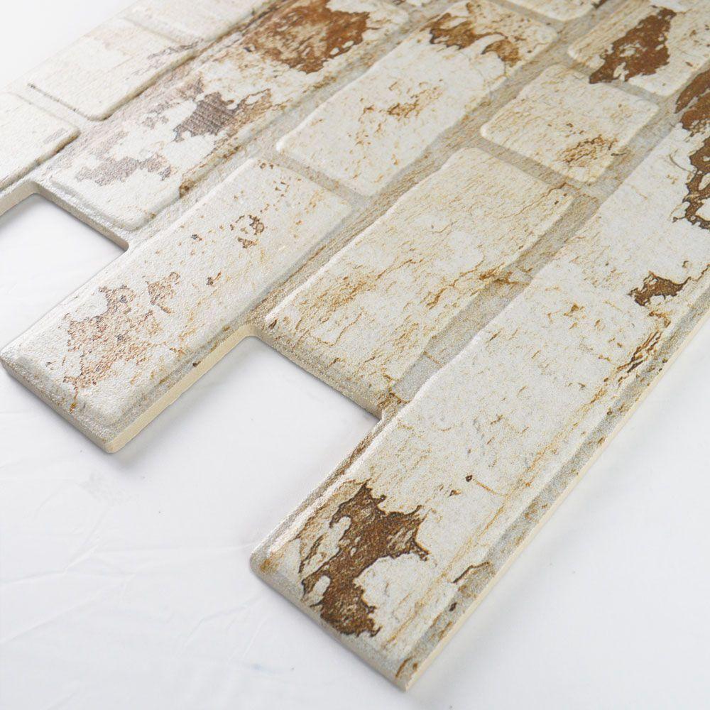 Traditional Reclaimed Red Brick Slip Effect Tiles | Brick ...