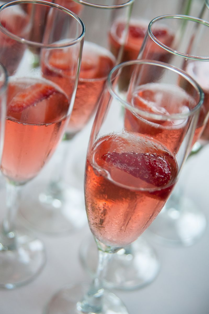 Drop A Frozen Strawberry Into Your Sparkling Wine To Keep It Cool And Add A Little Extra Sweetness Biltmore Estate Wine Company Bilt Wines Wine Wine Guide