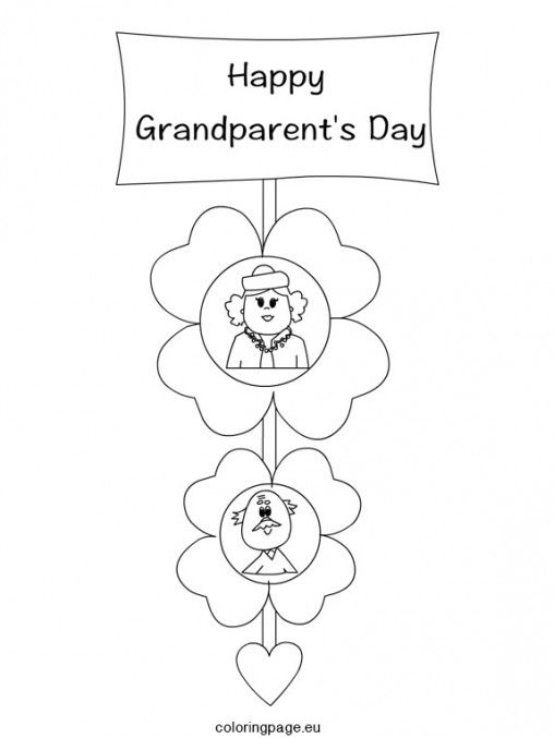 grandparents-day-craft3 … | Grandparents day, Happy ...