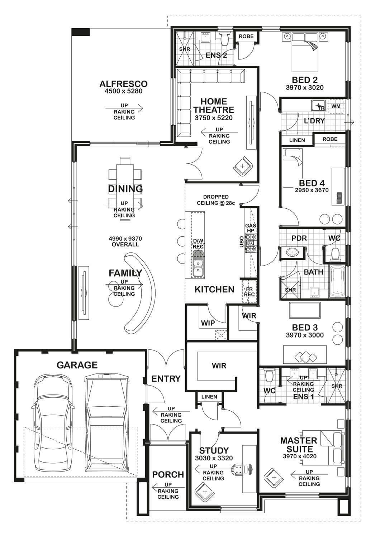 floorplan my style in 2019 casas modernas planos de casas rh ar pinterest com