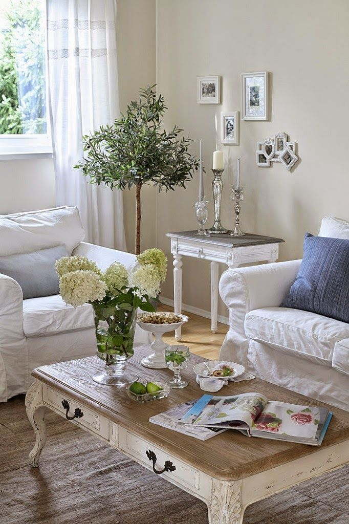 37 Stunning Shabby Chic Living Room Decor
