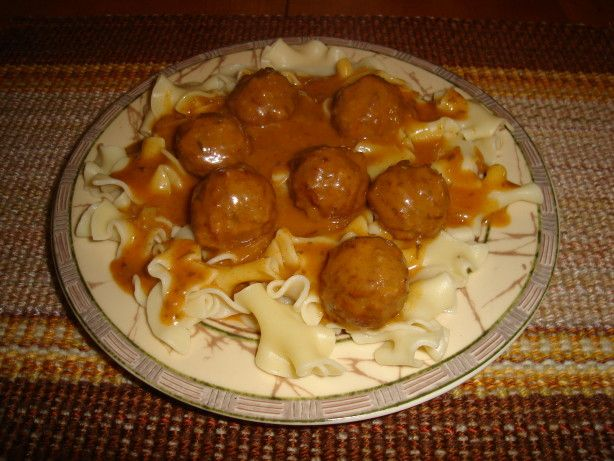 Meatballs In Hungarian Sour Cream Gravy Recipe Food Com Sour Cream Gravy Recipe Recipes Cream Gravy Recipe