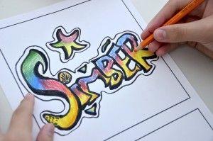 Graffiti Writing Fadli Name Design 49 In 50 Names Promotion Mat