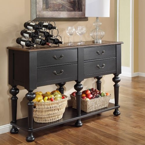 kettle black dining server dining room rh ar pinterest com