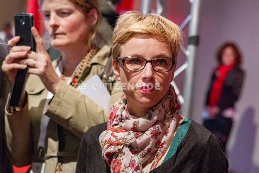 Aubervilliers : Le Parti communiste français tient son 37e congrès - A la une - via Citizenside France. Copyright : Christophe BONNET - Agence73Bis