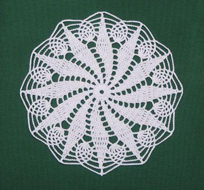 Diy Crochet Spitze Deckchen Muster Haus Pinterest Häkeln