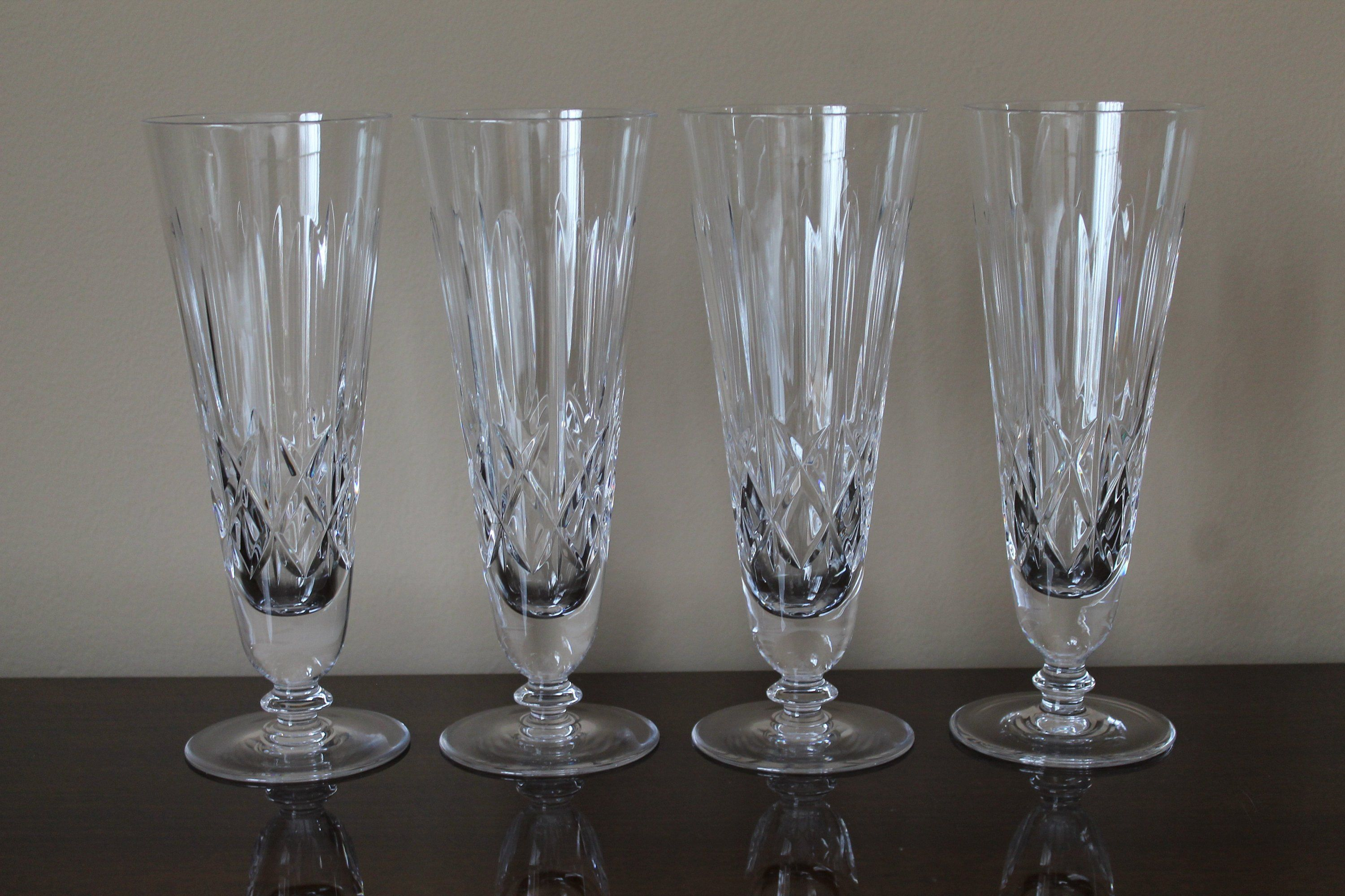 Reserved For Maria Hungarian Lead Crystal Pilsner Glasses Mid Century Modern Barware High End Barware Crystal Draft Glasses Crystal Stemware Lead Crystal Modern Barware